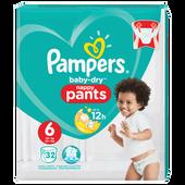 Bild: Pampers Baby-Dry Pants Gr. 6 (15+ kg) Value Pack