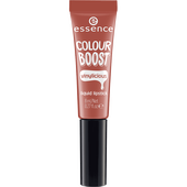 Bild: essence Boost Vinylicious Liquid Lipstick nude is the new cute