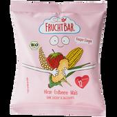 Bild: FruchtBar Hirse Erdbeere Mais Knusper Stangen