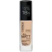 Bild: Catrice All Matt Plus Shine Control Make Up amber beige