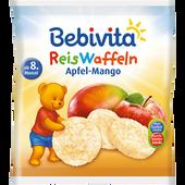 Bild: Bebivita Reiswaffel Apfel-Mango
