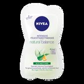 Bild: NIVEA natural balance Feuchtigkeitsmaske