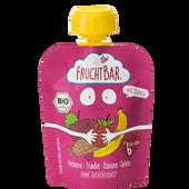 Bild: FruchtBar Bio Fruchtpüree Himbeer-Quinoa
