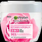 Bild: GARNIER SKIN ACTIVE Botanischer Balm 3in1 Maske mit Rosenwasser