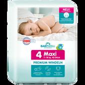 Bild: BABYWELL Premium-Windeln Maxi Gr. 4