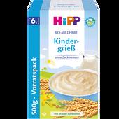Bild: HiPP Bio-Milchbrei Kindergrieß