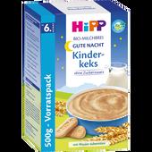 Bild: HiPP Bio-Milchbrei Gute Nacht Kinderkeks