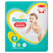 Bild: Pampers Premium Protection Pants Gr. 4 (9-15kg) Value Pack