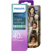 Bild: PHILIPS SceneSwitch LED Kerze 40W