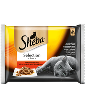 Bild: Sheba Selection in Sauce Herzhaftes Duo