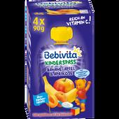 Bild: Bebivita Banane, Apfel & Aprikose mit Joghurt