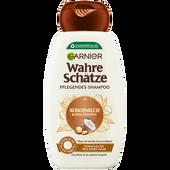 Bild: GARNIER Wahre Schätze Shampoo Kokosmilch & Macadamia