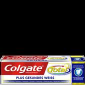 Bild: Colgate Total Plus Gesundes Weiß Zahncreme
