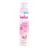 Bild: bebe Intensiv Bodylotion Spray 24h