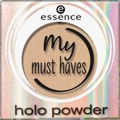 Bild: essence my must haves holo powder Lidschatten 01