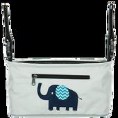 Bild: fillikid Buggy Organizer grau mit Elefant