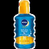 Bild: NIVEA Sun Schutz & Frische Transparentes Sonnenspray LSF 30