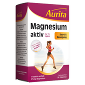Bild: Aurita Magnesium aktiv Tabletten