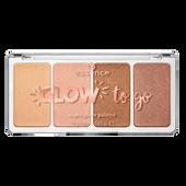 Bild: essence Glow to Go Highlighter Palette