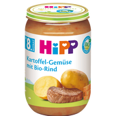 Bild: HiPP Kartoffel-Gemüse mit Rind