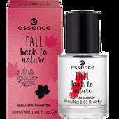 Bild: essence Fall back to nature EDT