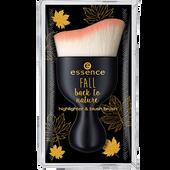 Bild: essence Fall back to nature Highlighter & Blush Brush
