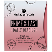Bild: essence Prime & Last Fresh-up Mattifying Paper
