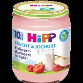 Bild: HiPP Erdbeere-Himbeere in Apfel