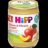 Bild: HiPP Banane & Pfirsich in Apfel