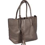 Bild: LOOK BY BIPA Shopper mit Quaste gold-metallic