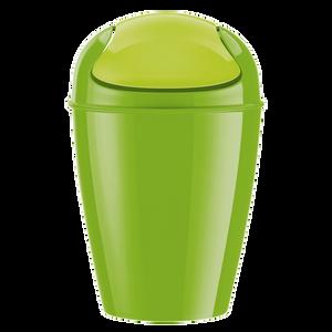 Bild: KOZIOL Schwingdeckeleimer DEL M grün