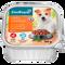 Bild: ZooRoyal Grillhappen mit Huhn & Gemüse an Paprikacreme