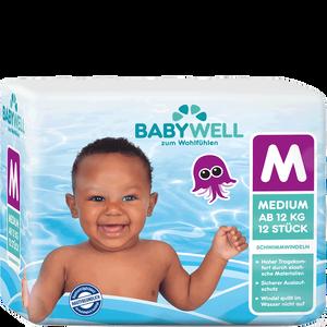 Bild: BABYWELL Schwimmwindeln Medium ab 12kg