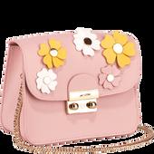 Bild: LOOK BY BIPA Crossbody Bag Flower rosa
