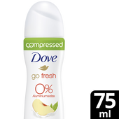 Bild: Dove compressed go fresh Pfirsich & Zitronenverbene