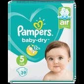 Bild: Pampers Baby-Dry Gr. 5 (11-16kg) Value Pack