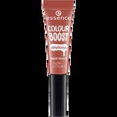 Bild: essence Boost Vinylicious Liquid Lipstick nude is the new cute
