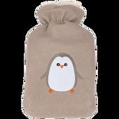 Bild: Kinderwärmeflasche Fliesüberzug Pinguin