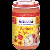 Bild: Bebivita Früchte Himbeere in Apfel