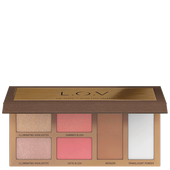 Bild: L.O.V The Shape X Glow Face Palette
