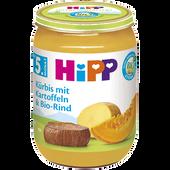 Bild: HiPP Kürbis mit Kartoffeln und Bio-Rind