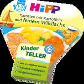Bild: HiPP Kinder-Teller Karotten mit Kartoffeln und Wildlachs