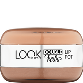 Bild: LOOK BY BIPA Double Kiss Lip Pot toffee perfection