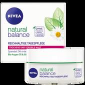 Bild: NIVEA natural balance Reichhaltige Tagespflege