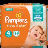 Bild: Pampers Sleep & Play Gr.4 (7-18kg)