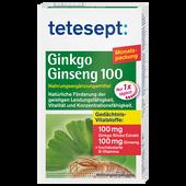 Bild: tetesept: Ginkgo Ginseng Tabletten 100