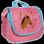 Bild: LOOK BY BIPA Kinderkosmetiktasche mit Pferdemotiv
