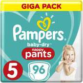 Bild: Pampers Baby-Dry Baby-Dry Pants Gr. 5 Giga Pack