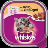 Bild: Whiskas Junior Kalb & Geflügel