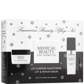 Bild: MEDICAL BEAUTY for Cosmetics Lift & Repair Tagescreme + Serum Set